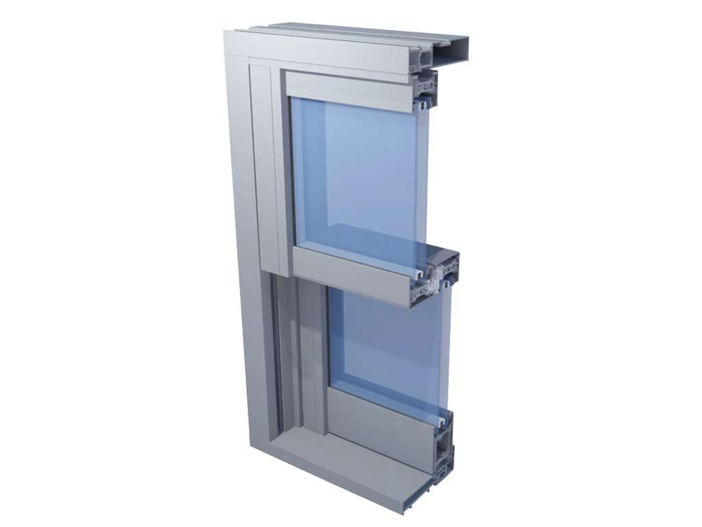 Alihaus Period Vertical Sliding Window cross section