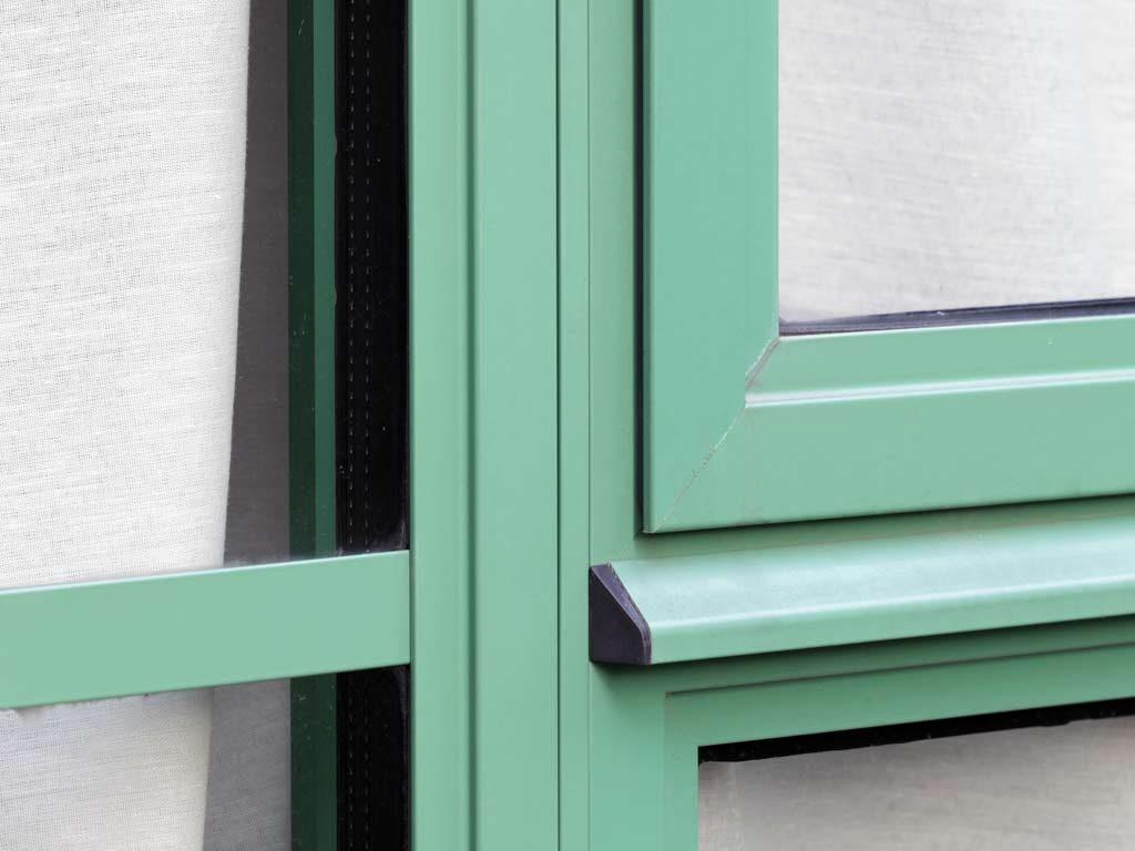 Alihaus Period Windows installed in industrial setting.